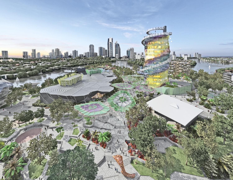 Gold Coast Cultural Precinct - Fabritecture